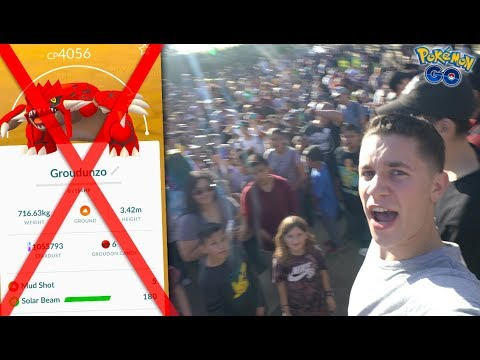 GOODBYE TO ONE OF THE HIGHEST CP MONS IN POKÉMON GO… + BIGGEST MEETUP IN PGO HISTORY!