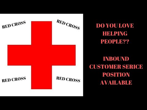 WOULD YOU LIKE TO WORK WITH THE REDCROSS?