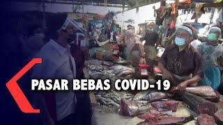 Pemko Medan Terapkan Gerakan Pasar Bebas Covid-19