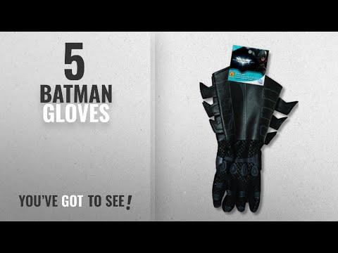 Top 10 Batman Gloves [2018]: Batman: The Dark Knight Rises: Batman Gloves with Gauntlets, Child