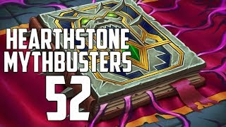 Hearthstone Mythbusters 52 - WITCHWOOD SPECIAL 2