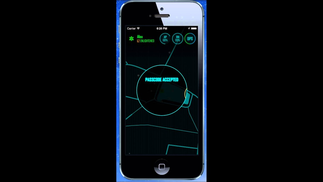 ingress redeem passcode ios