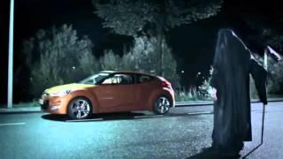 Запрещенная реклама  девушка и смерть  Hyundai
