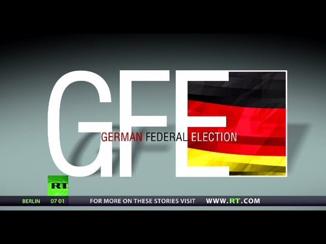 RT's special coverage:  German federal elections upcoming this Sunday