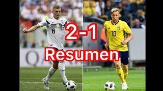 Todos los Goles y Resumen Alemania vs Suecia mundial 2018