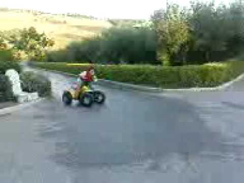 Gourouna Suzuki LT50 ATV Greece
