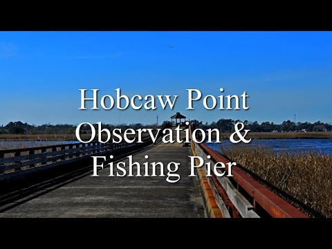 The Hobcaw Point Observation And Fishing Pier Georgetown SC