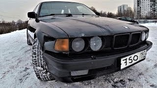 BMW 750 V12 на МЕХАНИКЕ !