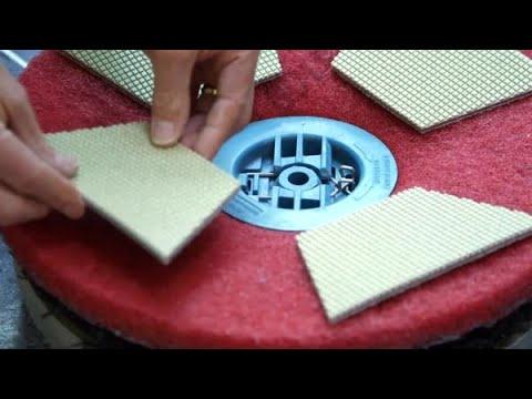 Démonstration du Système de protection pour planchers en pierre 3M