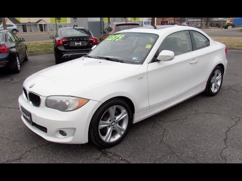 *SOLD* 2013 BMW 128i Coupe Walkaround, Start Up, Tour And Overview
