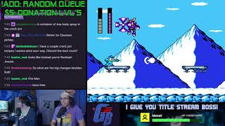 We Play YOUR Mega Man Maker Levels LIVE #80!
