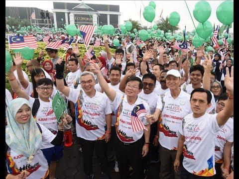 #AnakAnakMalaysia Walk fills Penang with the Malaysian spirit