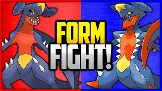 Garchomp vs Mega Garchomp | Pokémon Form Fight