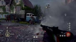 en vivo de marioKD1989  call of duty:WWII DLC3 zombis nazis 3 intento
