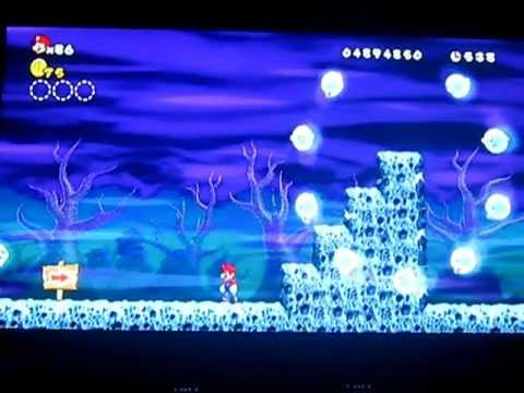 New super mario bros 2 canon monde 1 funnydog tv - Passage secret mario bros wii ...
