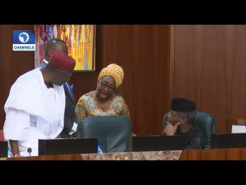 Gobe! Head Of Service & Buhari's Chief Of Staff In Heated Argument (Must Watch Video)