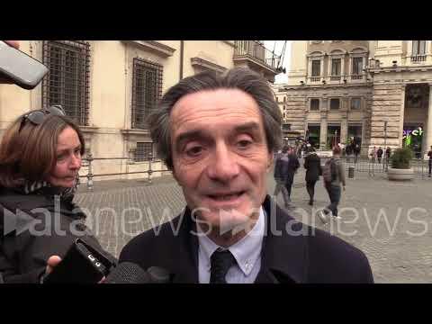 Diciotti, Fontana: Voto M5S? Contento, non cerano alternative