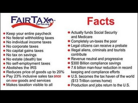 Image result for fairtax benefits