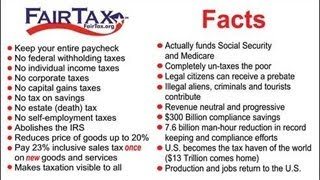 Freedom from the IRS! - FairTax Explained - Educate Yourself!