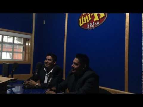 Entrevista en radio La Uni-k 89.3