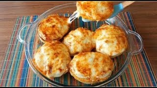 Подруга из Азербайджана научила готовить очень вкусный фаршированный картофель