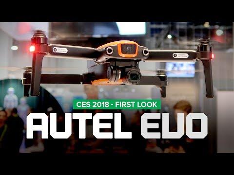 CES 2018 - Autel Robotics EVO