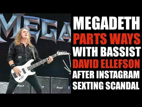 Bassist, David Ellefson KICKED From Megadeth