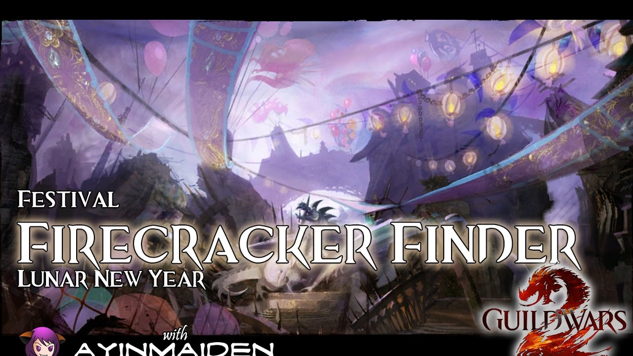 Gw2 Lunar New Year 2020.Guild Wars 2 Firecracker Finder Lunar New Year 2017 Achievement
