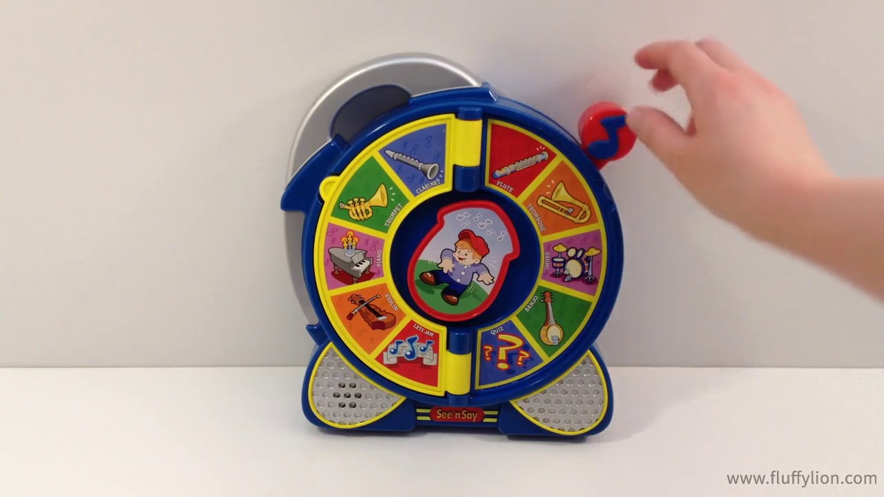 Fisher Price Little People See 'N Say Toy Learn Instruments For Kids Sounds Lights Music - YouTube