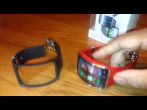 Samsung Galaxy GearS Replacement Strap Unboxing