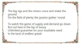 Bad Religion - Land of Endless Greed Lyrics