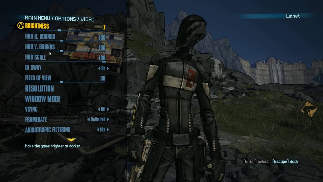 How To Change Hud Scale In Borderlands 2