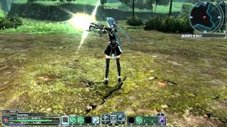 PSO2 JP - Twin Machinegun Photon Arts