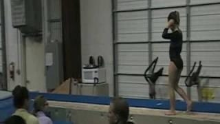 Reagan Hurricane Intrasquad vault Gymnastics