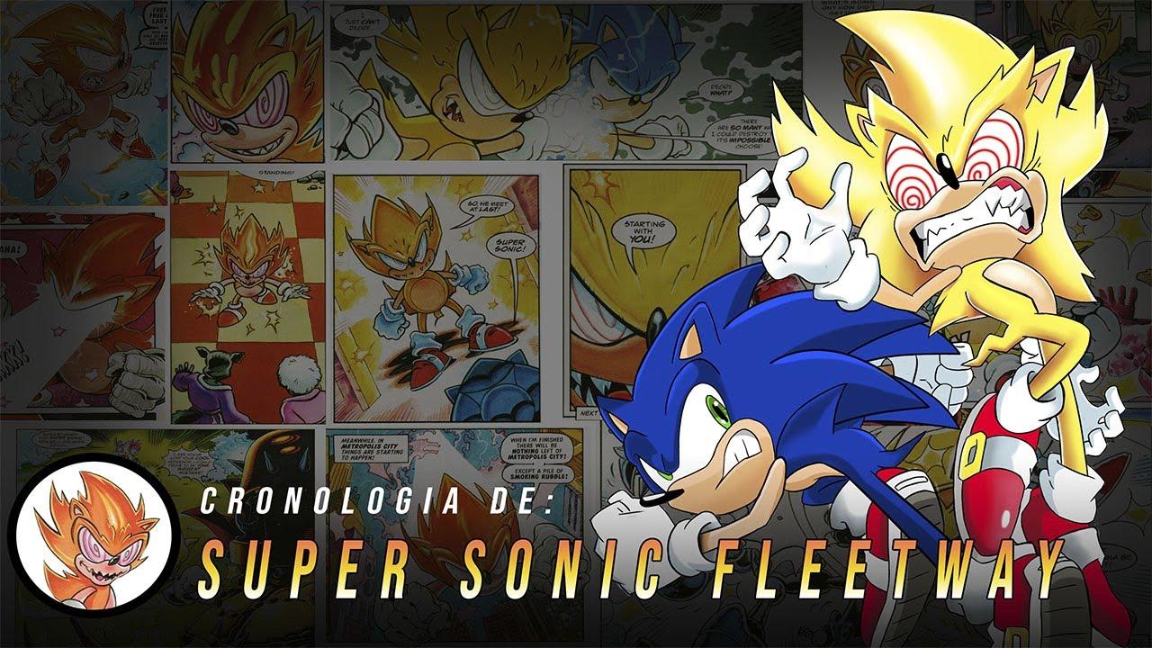 Cronología de Super sonic fleetway | Roland Kenway