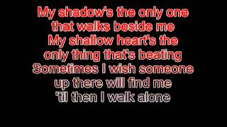 Boulevard of Broken Dreams Clean Lyrics BRADD