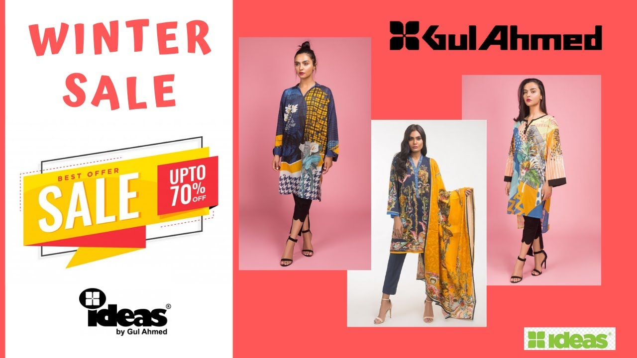 [VIDEO] - Ideas Gul Ahmed Winter Sale Upto 70% off with Price| Zee Vlogs 1