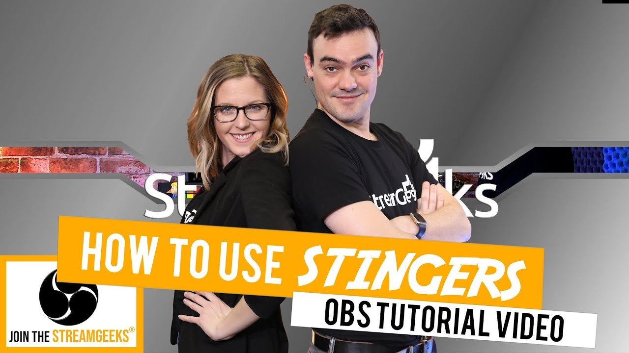 How to use and make Stingers Transitions in OBS - StreamGeeks