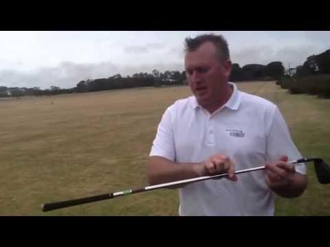 Matt Milne testing the new callaway big Bertha iron