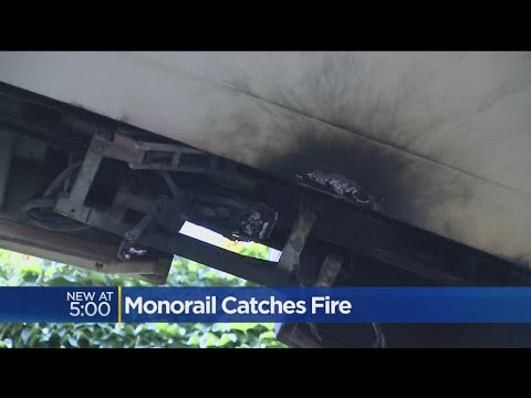 California State Fair Monorail Catches Fire