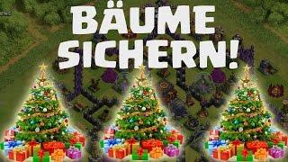 [facecam] WEIHNACHTSBÄUME SICHERN! || CLASH OF CLANS || Let's Play CoC [Deutsch/German HD]
