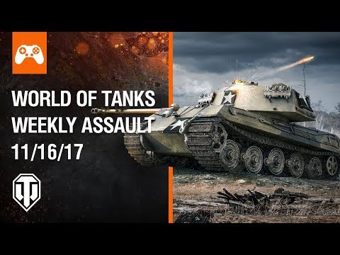 Console: World of Tanks Weekly Assault #28