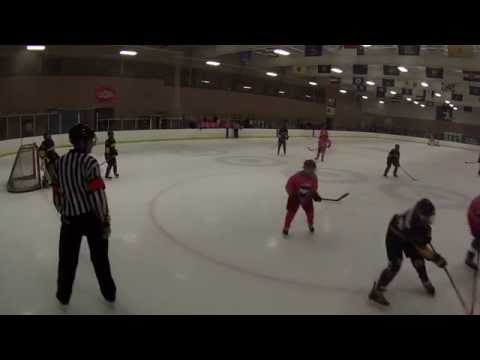 Lightning Bantam Gold vs. Jr. Checkers 10/18/15