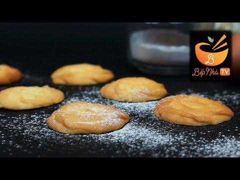 Cách làm bánh quy bơ đơn giản   Vào bếp cùng Bếp Nhà