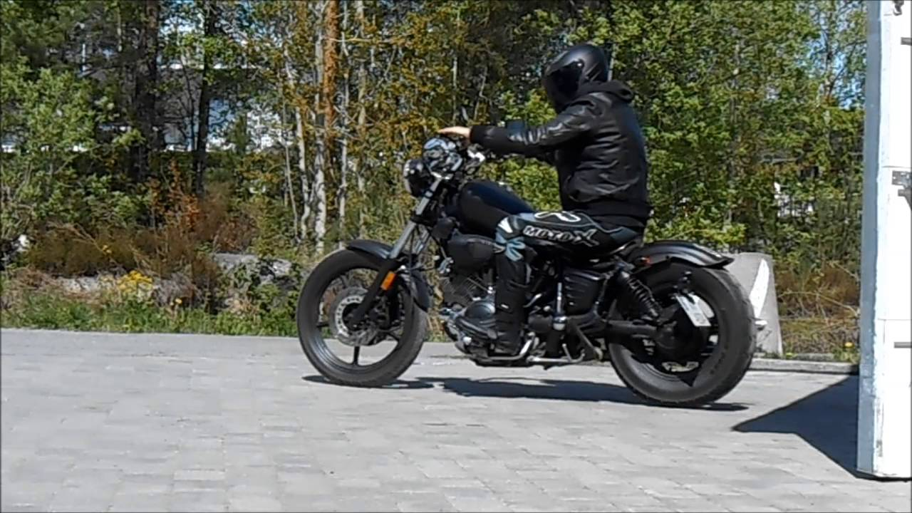 yamaha virago 750 1995 bobber youtube. Black Bedroom Furniture Sets. Home Design Ideas