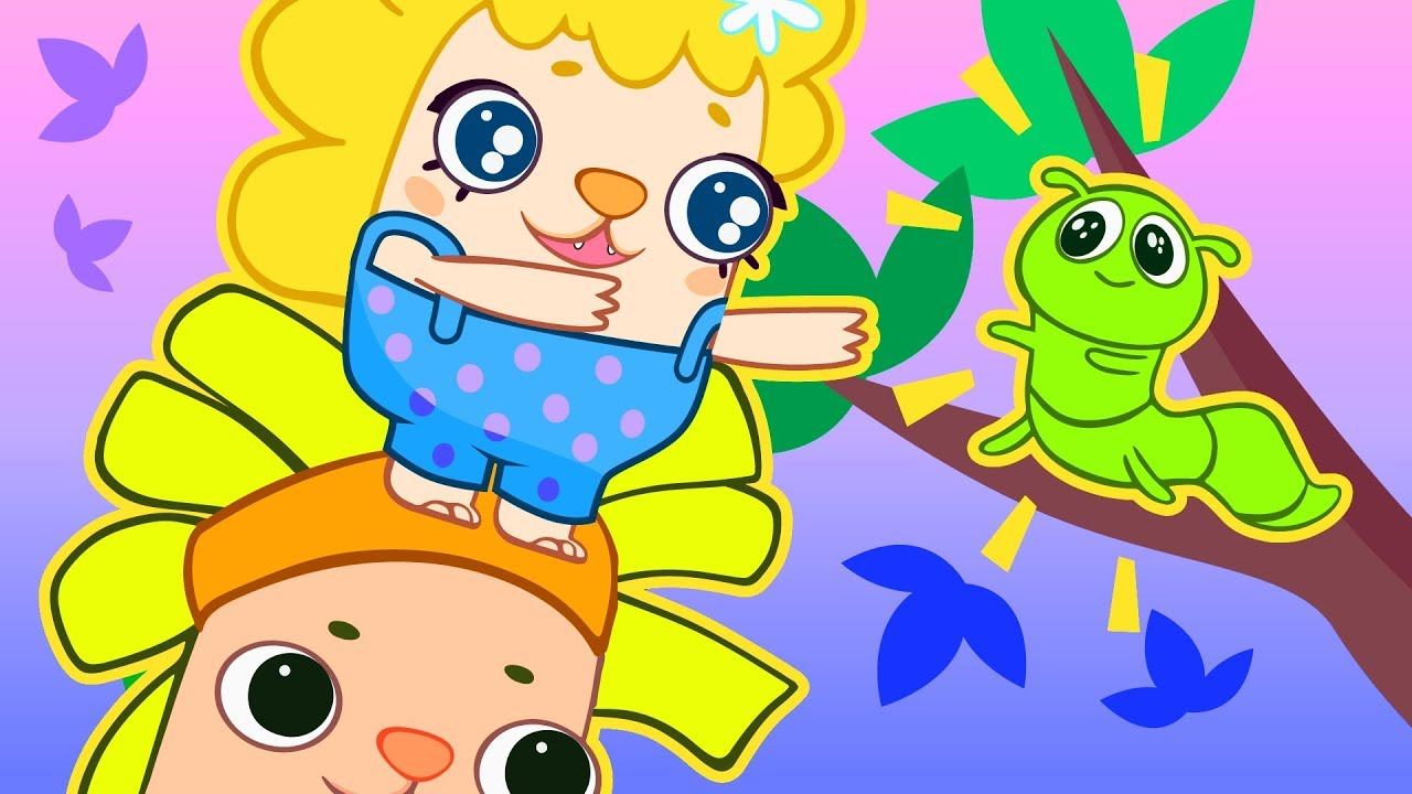 Too High Caterpillar And Butterfly Cartoons For Curious Kids Tiggy Tales Youtube