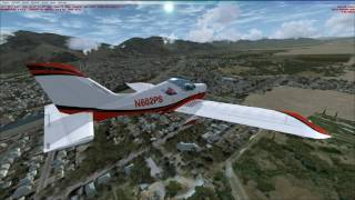 Custom Sport Cruiser Aircraft from Ogden-Hinkley to Bountiful Airports, Utah!