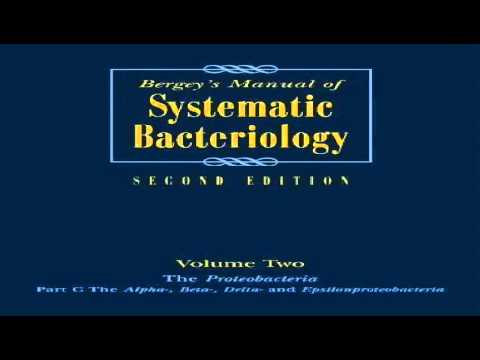Bergeys Manual of Systematic Bacteriology 2nd Ed Vol 2 Proteobacteria Part B The Gammaproteobacteria