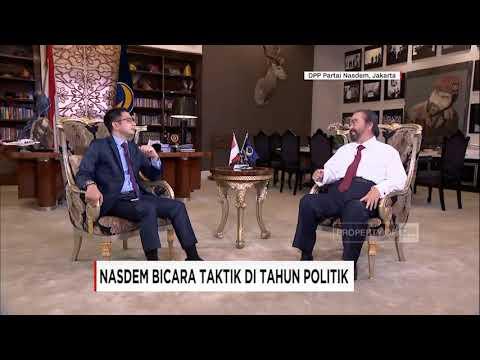 Wawancara CNN Indonesia dengan Ketua Umum NasDem Surya Paloh (segment 1)