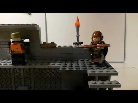 Лего самоделка #32 авампост бандитов